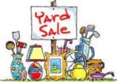 YARD SALE SMYRNA 8 AM - 4 PM