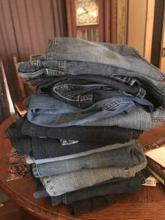 Lot of jeans...AWESOME Deal