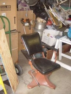 Vintage Barber or Tattoo Chair