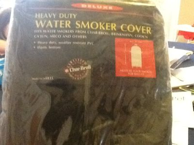 Char Broil heavy duty water smoker cover