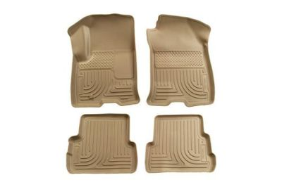 Sell Husky Liners 98313 08-11 Ford Focus Tan Custom Floor Mats 1st, 2nd Row motorcycle in Winfield, Kansas, US, for US $134.95