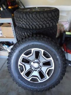 $1,500 BF Goodrich Tires JEEP WRANGLER NEW RUBICON WHEELS