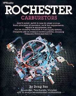 Purchase HP Books 0-895-863014 Book: Rochester Carburetors Author: Doug Roe Pages: 176 motorcycle in Delaware, Ohio, United States, for US $18.65