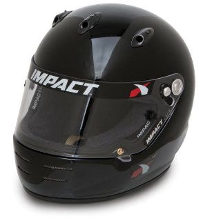 Sell IMPACT RACING 17199610 SS HELMET X LARGE BLACK SA2010 motorcycle in Moline, Illinois, US, for US $399.99