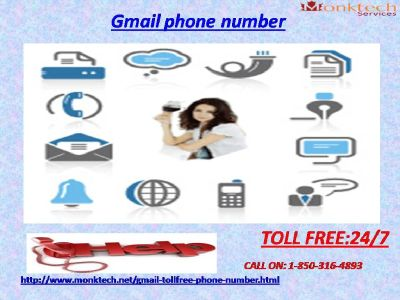 Gmail Phone Number for the Unlimited Technical Aid 1-850-316-4893