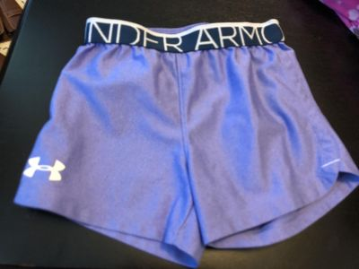 Under Armour size 6 shorts girls