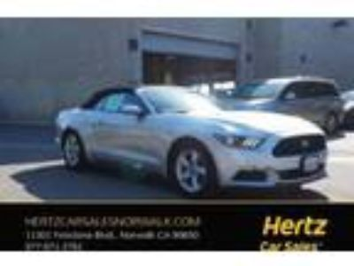 Used 2016 Ford Mustang Convertible