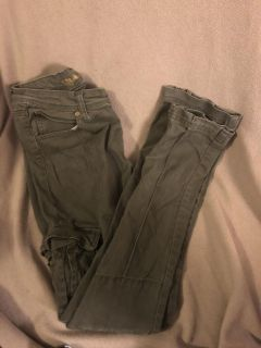 Olive green pants - size 14