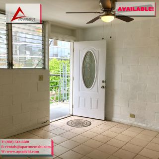 EXCELLENT 2 BED | 1 BATH NEAR ALA MOANA! NEW PAINT! PET OK! GREAT LOCATION!