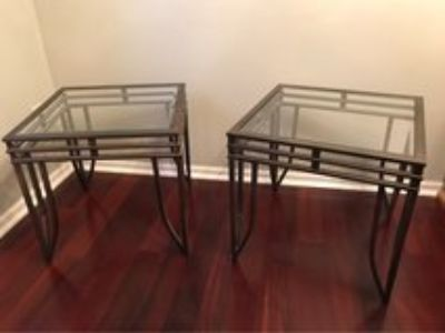 Two End Tables - Nightstands