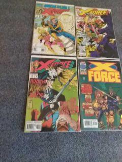 X-FORCE comics $2 each