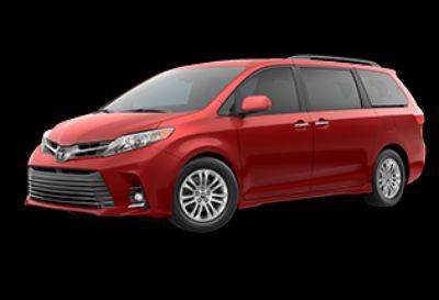 2020 Toyota Sienna XLE (Salsa Red Pearl)