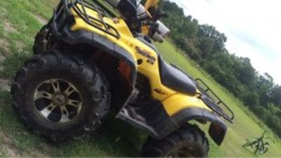 Wanting to trade for a nice camper or sale. 2002 Honda Forman 4x4 one owner.