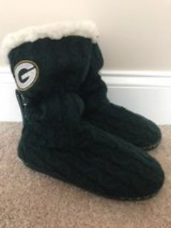 ***Packers slippers- brand new