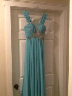 Beautiful Empire waist formal gown size 0