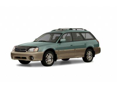 2002 Subaru Outback Base (White Frost Pearl/Titanium Pearl)