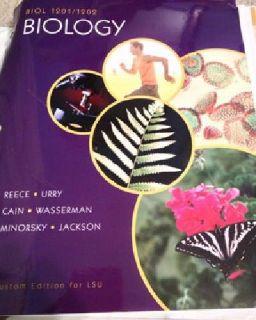 $70 LSU Biology 1201/1202 Bound Textbook