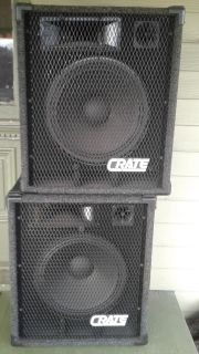 Crate PS 115 HP Un-powered speaker (FREE)