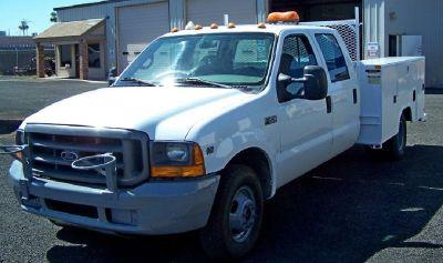 99' Ford F-350, Crew Cab, Utility/Dump Body 70 K Miles