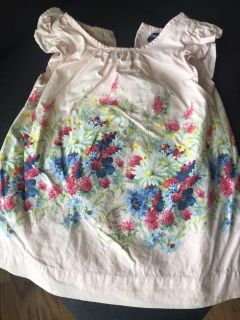 Baby Gap Floral Lined Dress