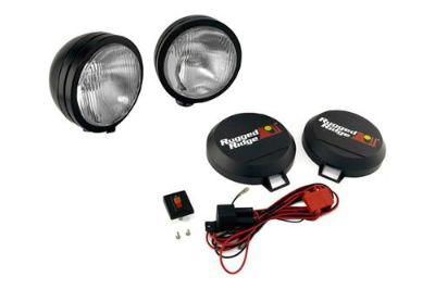 Find Rugged Ridge 15205.52 - Off Road Black Steel HID Fog Light Kit 1 Pc motorcycle in Suwanee, Georgia, US, for US $296.69