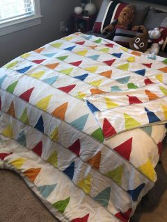 Boys twin duvet with cover and sham