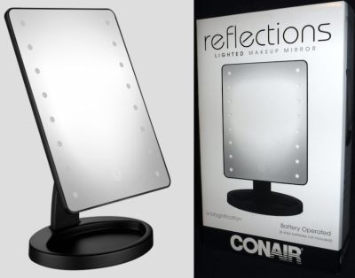 New! Conair LED Lighted Vanity Makeup Mirror w/ Touch Screen