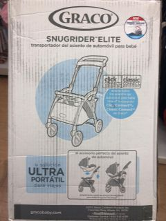 Graco Snugrider Elite infant car seat carrier NEW IN BOX
