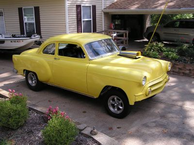 gasser 53 chevy business coupe