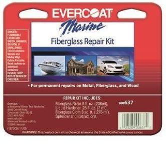 Buy Evercoat 637 Boat Marine Fiberglass Repair Kit (Evercoat-637) motorcycle in Warren, Michigan, United States, for US $30.00