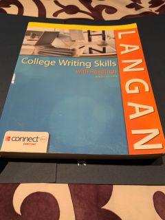 Langan college writing/reading textbook