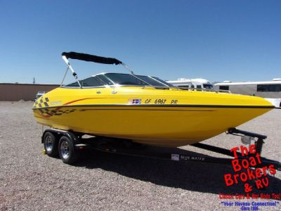 2002 BLUEWATER VISION 21′ OPEN BOW BOAT