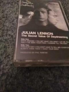Julian Lennon cassette