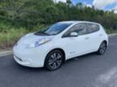2016 Nissan Leaf SV 30kWh Leather Heated Seats/ Steering Wheel Navigation Re...