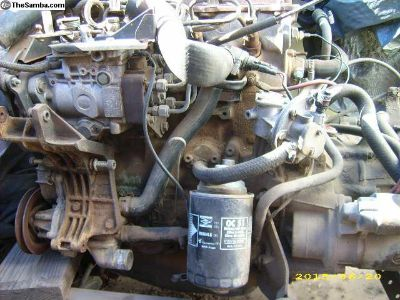 Diesel Motor and Transaxle (Rabbit)