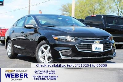 2018 Chevrolet Malibu LS (Mosaic Black Metallic - Black)