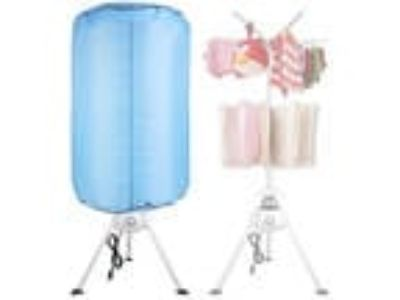 Portable Electric Clothing Dryer 1000W Heater Folding Drying
