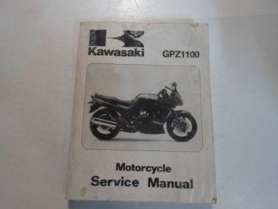 Buy 1995 Kawasaki GPZ1100 Motorcycle Service Repair Shop Manual WATER DAMAGED WORN motorcycle in Sterling Heights, Michigan, United States, for US $29.95