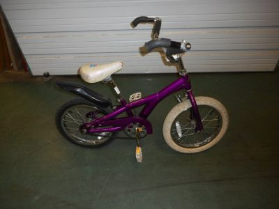 "Schwinn Lil Stardust 16"" girls bicycle Used"