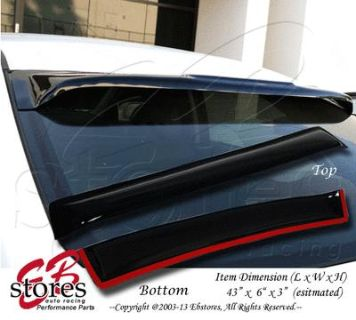 Find Rear Visor Sun Roof WindShield Deflector BMW E34 525i 535i 88 89 90-96 1988-1996 motorcycle in La Puente, California, US, for US $53.95