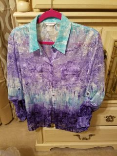 Very Pretty Shirt in great condition. From Dillards
