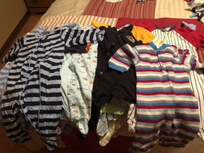 Huge lot of 3 to 6 month boys winter clothes