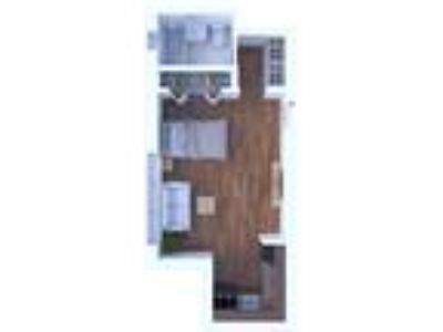 The Max Apartments - Studio Floor Plan S1