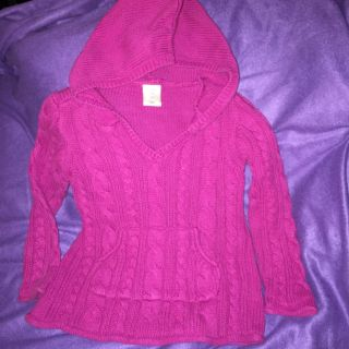 3T Old Navy hooded sweater