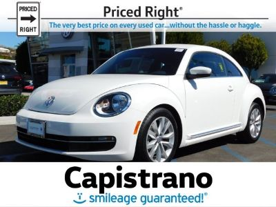 2013 Volkswagen Beetle TDI (Candy White)