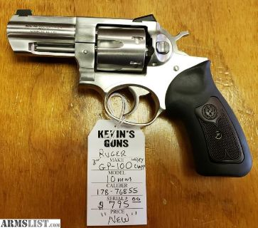 For Sale: Ruger GP-100 Wiley Clapp