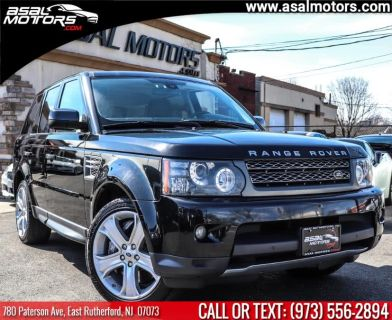 2011 Land Rover Range Rover Sport Supercharged (Santorini Black Metallic)
