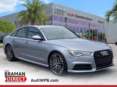 2018 Audi A6 2.0T Premium (Gray Metallic)