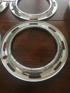 Early set of beauty trim rings thin slot