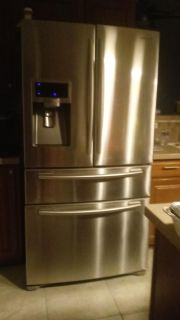Samsung French doors fridge